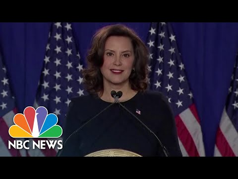 Michigan Gov. Whitmer Targeted By Militia Charged In Alleged Kidnapping Plot | NBC News NOW