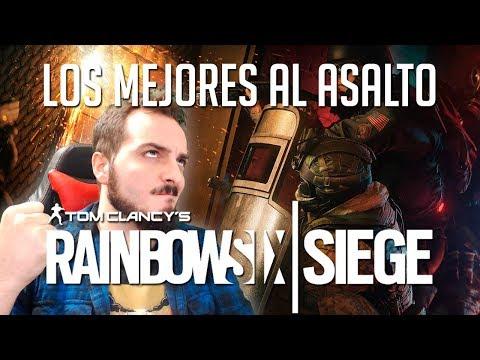 LOS MEJORES AL ASALTO | RAINBOW SIX SIEGE rankeds c/ Eruby y Val