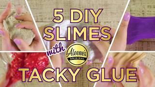 5 Slime Recipes with Aleene's Tacky Glue