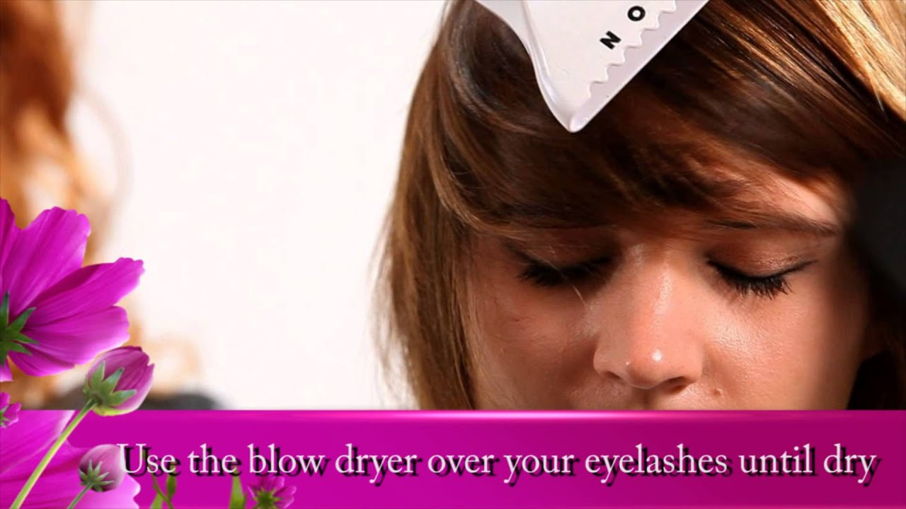 how to clean your eyelash extensions