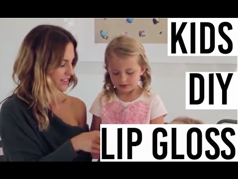 Kid's DIY Lip Gloss