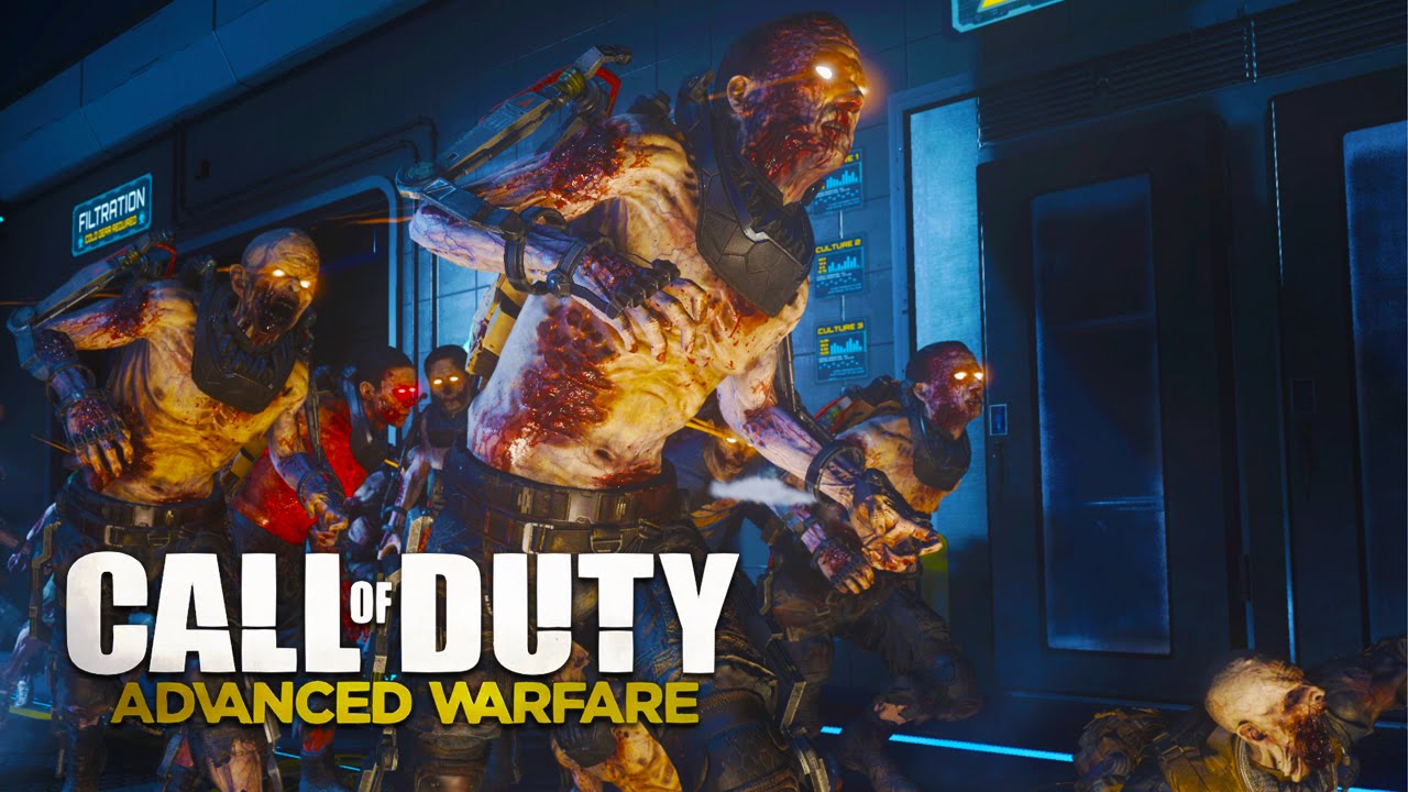 Advanced Warfare Exo Zombies Live Cod Zombies Gameplay W Typical Gamer Cod Aw Zombies Dlc Youtube