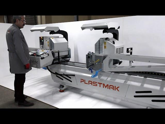 Tronzadora de doble cabezal SC 400 de Plastmak en Ventytec. Venta y Reparación - Maquinaria