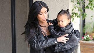 X17 EXCLUSIVE: Kim Kardashian Takes Leather-Clad Nori To Ballet Class