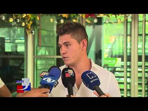 Fue presentado el nuevo refuerzo del Deportivo Cali, el defensa Nicolás Roa