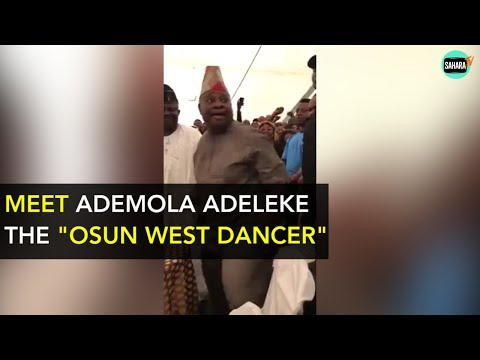 Meet Nigeria's Dancing Senator Ademola Adeleke And Other Dancing Political Gladiators
