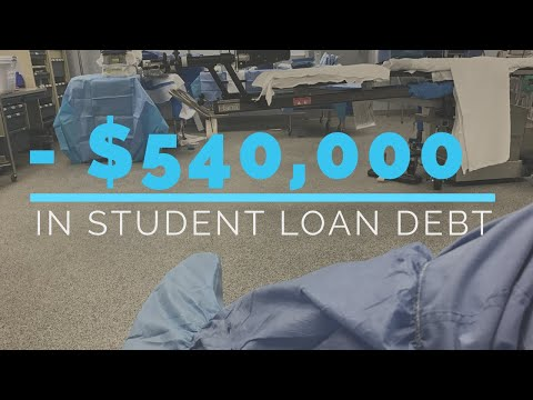 Paying off $540,000 student loans in 2 years