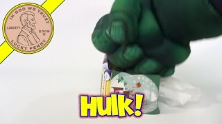 Hulk Hands Tries To Grab A Tissue - 2012 Puffs Winter
