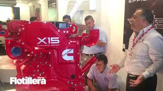 Cummins Ruta X15 en la CDMX