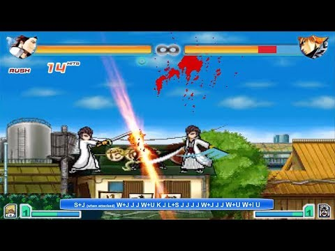 Bleach Vs Naruto 2.5 - Sosuke Aizen Combo Tutorial