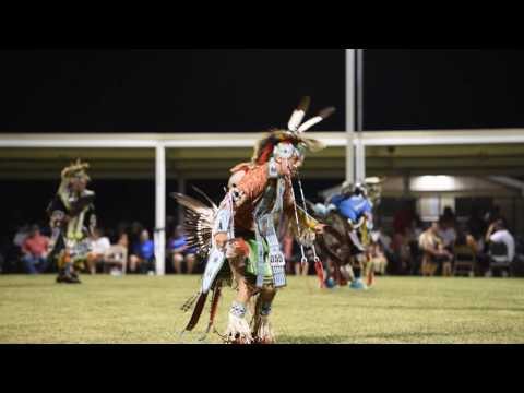 Chicken Dancing - 2016 Prairie Band Potawatomi Pow Wow