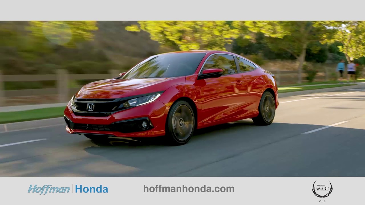 Now Is The Time At Hoffman Honda Youtube