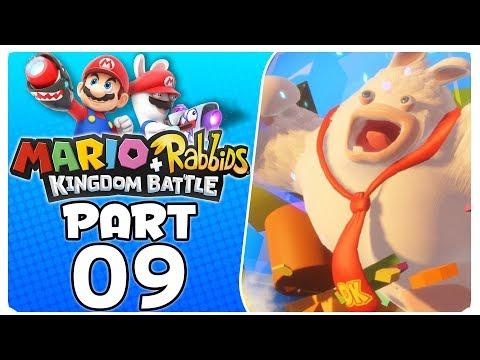 "Mario + Rabbids Kingdom Battle - Part 9 | World 1-9 ""Top Banana"""