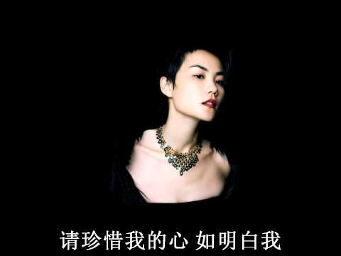 Faye Wong 王菲 - 容易受伤的女人 歌词 Lyrics