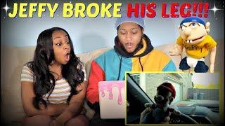 "SML Movie ""Jeffy Breaks His Leg!"" REACTION!!!"
