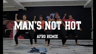 D'AFROGANG #mansnothotchallenge | Petit Afro Choreography