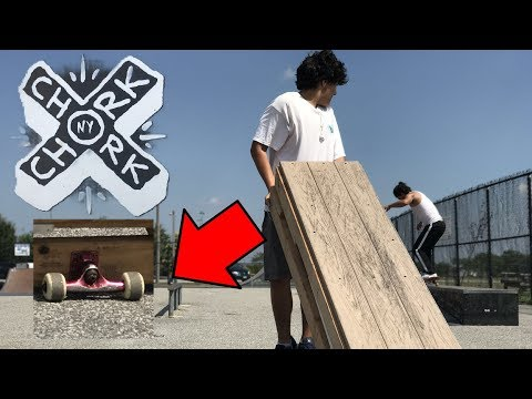 CHORK SATURDAYS - Skateboarding Box Hack