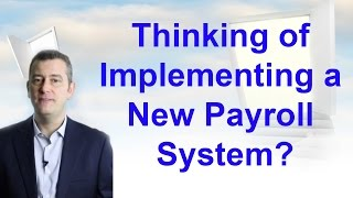 Payroll system implementation | Payroll support