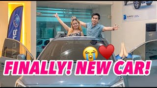 FINALLY! WE HAVE A NEW CAR! 😭🙏🏻❤️ (NA SURPRISE SILA SA BAGO NATING SASAKYAN!)
