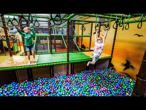 Indoor Playground Eventyrfabrikken Megacenter Legeland fun for kids