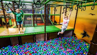Indoor Playground Eventyrfabrikken Megacenter Legeland (fun for kids)