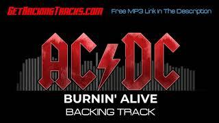 AC/DC - Burnin' Alive - BACKING TRACK
