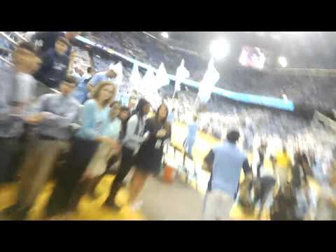 This is Carolina Basketball #throughglass