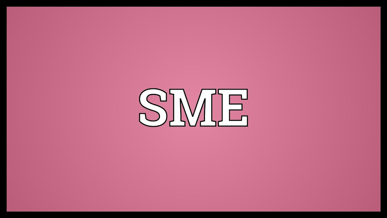 What does sme mean in texting