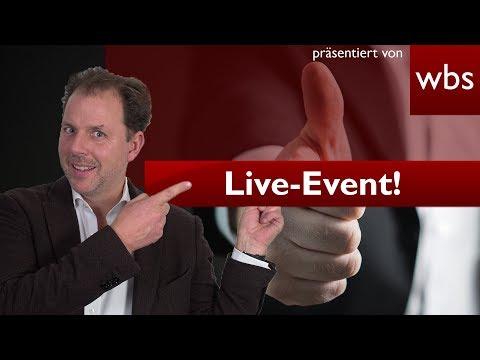 Großer Livestream: 2. Legal Tech Meetup NRW | Rechtsanwalt Christian Solmecke