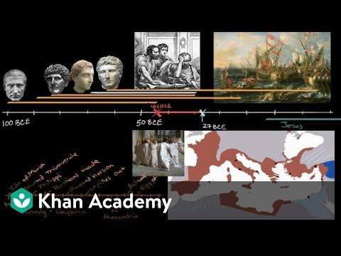 Ides of March spark a civil war | World History | Khan Academy