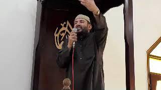 خطييب الجمعه من مسجد قباء باام الزين فضيله الشيخ محمد فتحى من علماء الازهر الشريف