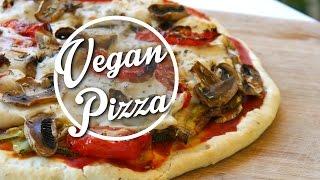 The Perfect Homemade Vegan Pizza | + Vegan Cheese Recipe