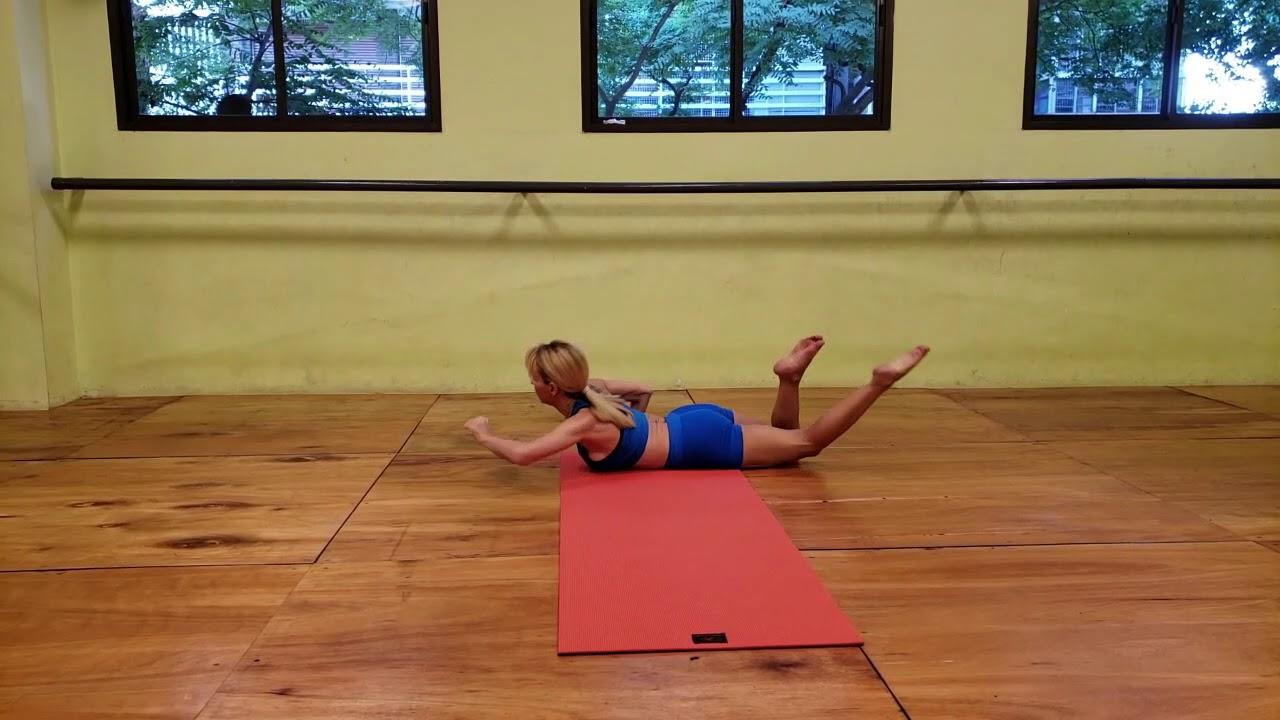 Barbara Feler Serie Basica De Purna Yoga Integral Youtube
