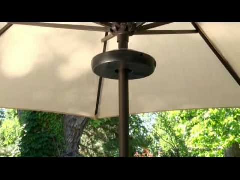 LED Rechargeable Umbrella Light  Product Review Video