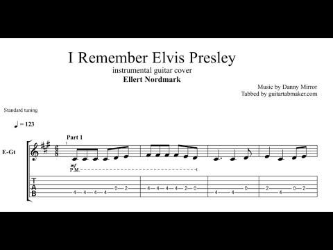 Ellert Nordmark - I Remember Elvis Presley TAB - guitar instrumental tab - PDF - Guitar Pro