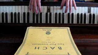 J.S. Bach: Two-Part Invention No. 8 in F Major BWV 779