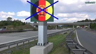 Tag der Deutschen Einheit: Ehemaliger Grenzübergang DDR Rudolphstein Hirschberg Autobahn A9