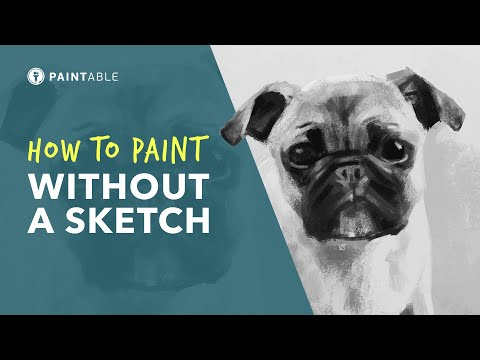 How to PAINT Anything WITHOUT SKETCHING (Step-by-Step Tutorial) thumbnail