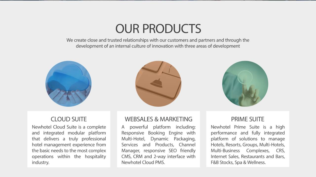 Newhotel Software - The Company, since 1984