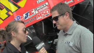 2015 World of Outlaws Lakeside Speedway: One-on-One with Jason Johnson