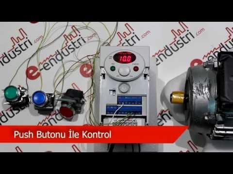 LS İC5 Serisi Push Buton İle Kontrol