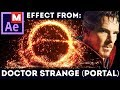 After Effects Tutorial: Portal - Doctor Strange (Advanced) Trapcode Particular