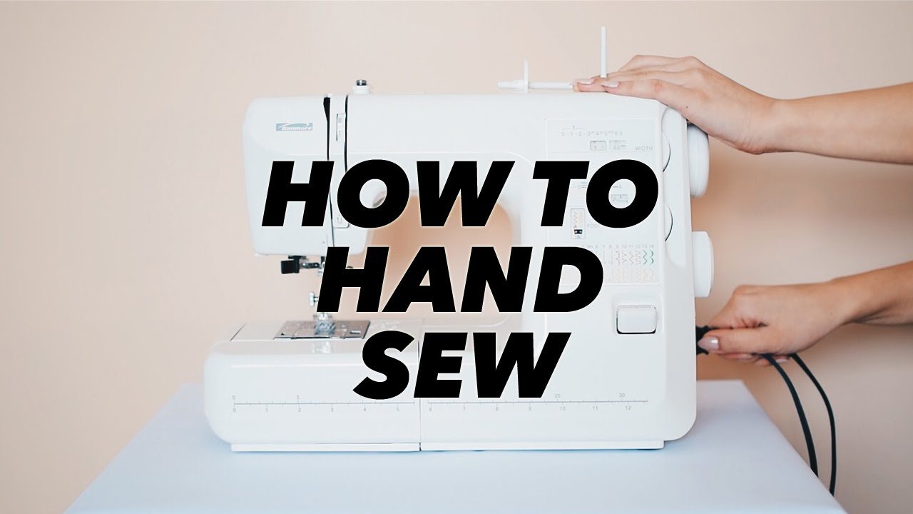 how to hand sew sewing basics withwendy youtube. Black Bedroom Furniture Sets. Home Design Ideas