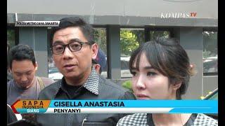 Gisel Serahkan Bukti Kasus Hoaks Video Asusila