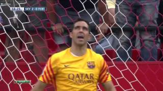 Video Gol Pertandingan Sevilla vs FC Barcelona