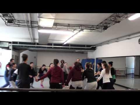 A special Birtay in a Ballet Studio - Tatiana Sulejmani