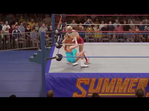 WWE 2K16 - The Fabulous Moolah vs Alundra Blayze