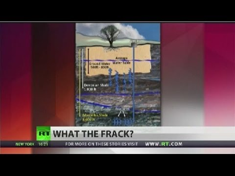 Water pollution connected to fracking