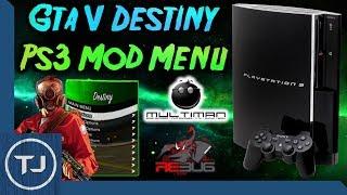 PS3 GTA V Density Mod Menu! (How To Install) 2018!