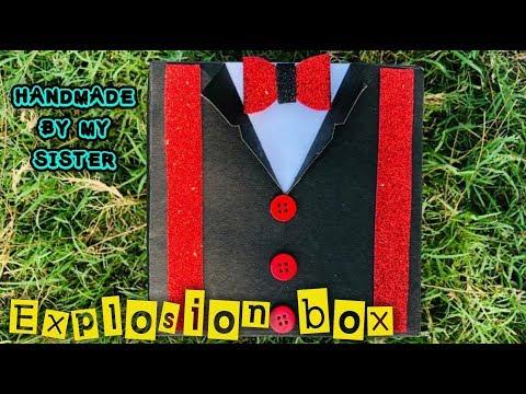 Explosion box || sister's creation | Anniversary Gift box |Handmade